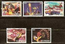 Mint St.vincent cartoons stamps Set (MNH)