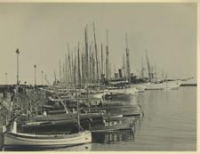 France, Cannes Vintage Print Tirage argentique  17x22  Circa 1939