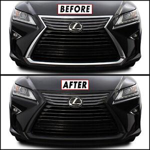 Chrome Delete Blackout for 2016-19 Lexus RX Front Grille Trim