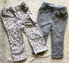 Baby Gap 1969 Jeans Mini Skinny Littlest Legging Girls 12-18M Lot of 2 Pants