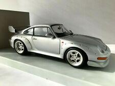 1/18 - PORSCHE 911 (993) GT2 SILVER - UT MODELS - MINT