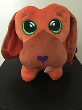 "NEW 2016 Sugar Loaf  ""I Love U"" Puppy Heart Dog Plush NWT"