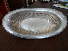 "Antique Wallace RW & S Sterling Silver Nouveau  Bowl  12""  Dish 264g 9.4oz"