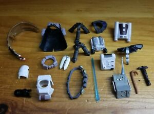 Lot of Star Wars Action Figure Accessories 1:18 Scale Backpacks, Weapons, Armor