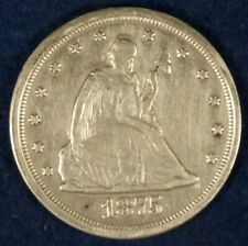 1875-S 20c Silver Twenty Cent Coin