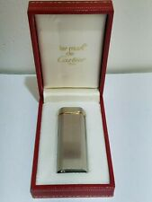 VINTAGE CARTIER PARIS TRINITY GOLD PLATED BAND GAS LIGHTER