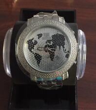 NEW Techno Master TM-2108 Watch Men's 0.20 CTS White Diamond