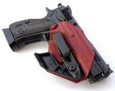 Legacy Firearms Co CZ 75 P01 SP-01 Omega Appendix Holster Blood Red