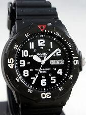 Reloj Nuevo Casio MRW-200H-1BV Hombres Análoga 100m WR Día Fecha Resina