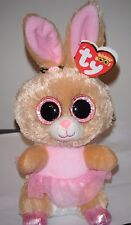 """Ty Beanie Boos - TWINKLE TOES the 6"""" Ballerina Bunny Rabbit ~ 2016 NEW ~ MINT"""