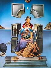 "SALVADOR DALI GICLEE  ON CANVAS 19.5"" X 26.75""  #41/95"