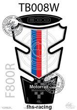 TB008W , MOTOGRAFIX - Tankpad , Tankprotektor für BMW , F 800 R , TOP QUALITÄT