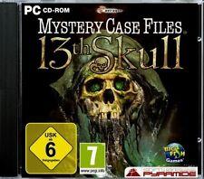 Mystery Case Files: 13th skull (pc) - NEUF & immédiatement