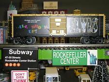 """Elvis Presley Lionel""""O""""Gauge Toy Trains All Shook Up BoxCar 6-39258"""