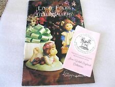 HALLMARK Brochures S/2 Little Folks fr Little Gallery & Joan Walsh Anglund Coll