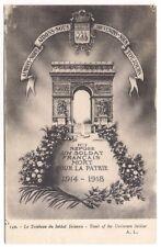 paris ,  le tombeau du soldat inconnu  -------