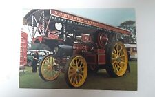 Traction Engine Series D 218. Postcard