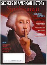 Smithsonian Magazine October 2014 George Washington, FBI, CIA, Wonder Woman