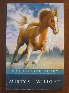 MISTY'S TWILIGHT by MARGUERITE HENRY PB EXC 2007 HORSES