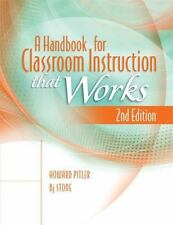 A Handbook for Classroom Instruction That Works, 2nd Edition by Bj Stone and Ho…