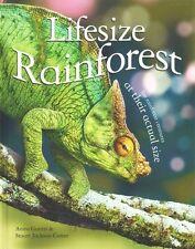 Lifesize Rainforest, GANERI, Anita, New Book