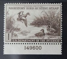 CKStamps: US Federal Duck Stamps Collection Scott#RW9 $1 Mint NH OG CV$210
