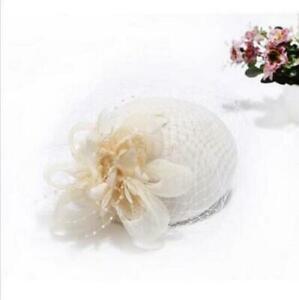 Womens Beret Felt Wool Fascinator Cocktail Wedding Church Pillbox Veil Lace Hat