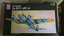 AMT/Ertl Junkers Ju 88 C-4/C-6 Model Kit - 1/72 Scale - #8898     (G 57)
