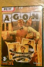 Agon: The Lost Sword of Toledo (PC DVD-ROM) Game Brand New Sealed Free Shipping