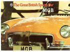 MG MGB Roadster 1972-74 UK Market Sales Brochure