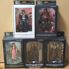 Final Fantasy Play Arts Figure 5 Types Set Aerith Sephiroth Vincent Cloud Squall