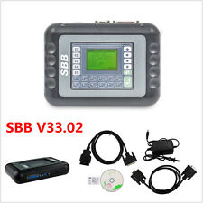 Newest V33.02 SBB Car Key Programmer Transponder Immobilizer Kit Multi-languages