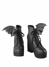 GOTH IRON FIST BAT WING BOOTS US 9 night stalker shoes gothic punk platform