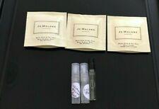 3x Jo Malone London Sample Vials + 2 Wood Sage Sea Salt Wash Packet +1 BodyCream