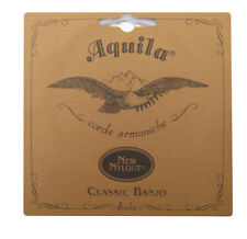 Aquila Banjo Strings - 6B - All Nylgut - 5 String Classic Banjo - Light Tension