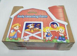Fisher Price Little Persone Presto Testo Educativo Fattoria 8 Mini Cartone Libri
