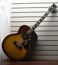 Vintage Global MIK J200 Vintage Acoustic Jumbo Lawsuit Guitar Sunburst
