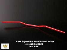 ABM Superbike Handlebars Street Bike Aluminum 0239 0 7/8in 29 7/32In 3 3/16in