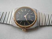 VERY RARE VINTAGE SS Swiss Made ROAMER FLATLINE QUARTZ LADIES WRISTWATCH
