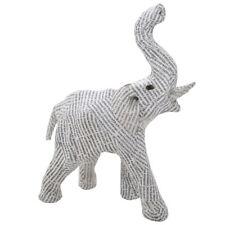 Ornamento de inicio de elefante Reciclado pequeño papel prensa
