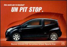 cartolina pubblicitaria PROMOCARD n.3986 CITROEN C2 AUTOMOBILE
