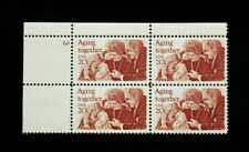 US Stamps #2011 ~ 1982 AGING TOGETHER 20c Plate Block MNH