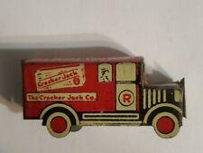 Vintage Cracker Jack TIN TOY ANGELUS MARSHMALLOWS DELIVERY TRUCK PREMIUM Prize