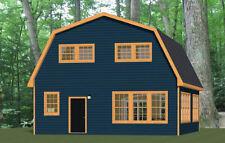 28x32 House -- 4 Bedroom 1.5 Bath -- PDF Floor Plan -- 1,544 sq ft -- Model 4