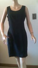 Dressbarn Black Sheath Dress Sleeveless Women's Size 6