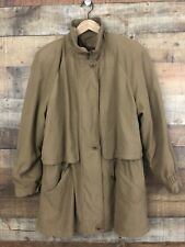 Gallery Winter Coat Parka Jacket Brown Womens Size Medium Polyester