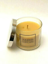 BATH & BODY WORKS SINGLE WICK SCENTED CANDLE PUMPKIN CUPCAKE 4 OZ NEW
