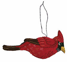 Red Cardinal Wool Christmas Ornament