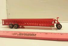 1/64 ertl custom h&s bunk cattle feeder wagon farm toy standi toys plastic nice!