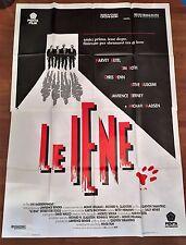 manifesto,4F 1992,Le iene Reservoir Dogs TARANTINO, Keitel Madsen Roth,Buscemi
